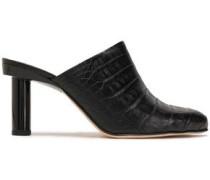 Mid Heel Pumps Black