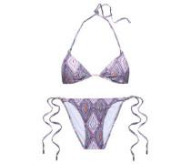 Key West crocheted triangle bikini top