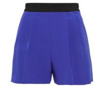 Two-tone Cady Shorts Royal Blue