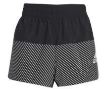 Striped shell shorts