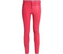 L8001 stretch-leather skinny pants