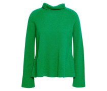 Cashmere Turtleneck Sweater Green
