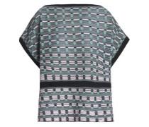 Jacquard-knit top