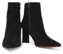 Katia Suede Ankle Boots Black