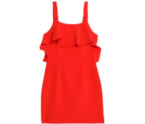 Weyford ruffled crepe mini dress