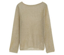 Open-knit Top Gold