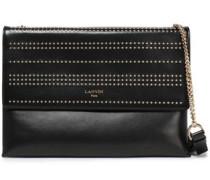 Sugar Medium Studded Leather Shoulder Bag Black Size --