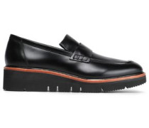 Leather Loafers Black