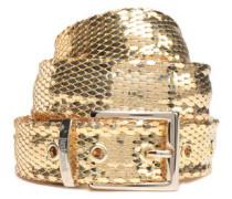 Gold-tone belt