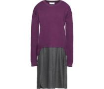 Layered wool dress
