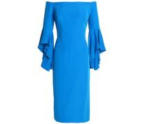 Selena off-the-shoulder cady dress