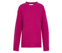 Wool And Cashmere-blend Sweater Magenta