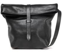 Cimone Textured-leather Shoulder Bag Black Size --