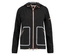 Wave shell hooded jacket