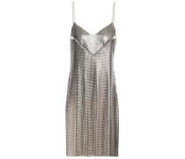 Cutout chainmail mini dress