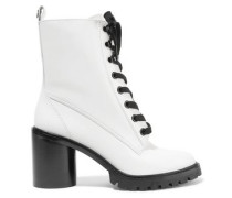 Ryder glossed-leather ankle boots