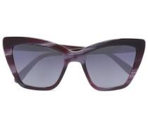 Cat-eye Acetate Sunglasses Violet Size --