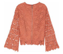 Pasha guipure lace top