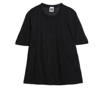 Jacquard-knit T-shirt