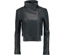 Connix leather biker jacket