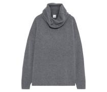 Gunilla Brushed Knitted Turtleneck Sweater Anthracite