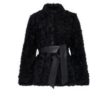 Woman Sheela Belted Wool Coat Black