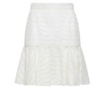 Broderie Anglaise Mini Skirt Ivory