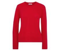 Irene Cashmere Sweater Tomato Red