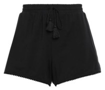 Modal-blend Jersey Shorts Black
