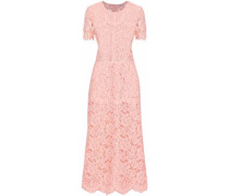 Duval corded lace midi dress