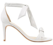 Knotted Leather Sandals White