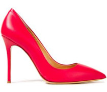 Woman Lucrezia Leather Pumps Red