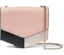 Lou Color-block Leather Shoulder Bag Blush Size --