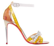 Metrisandal Leather And Pvc Sandals Yellow