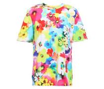 Floral-print Cotton-jersey T-shirt Multicolor