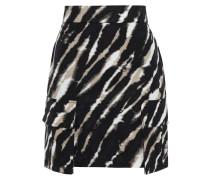 Tie-dyed Cotton-jacquard Mini Skirt