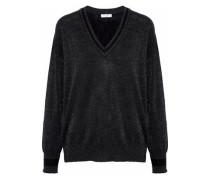 Lucinda metallic wool-blend sweater