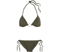 Miami Triangle Bikini Army Green
