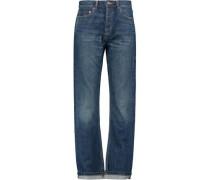 Annie Boyfriend mid-rise wide-leg jeans