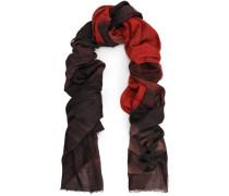 Frayed dégradé cashmere scarf