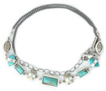 Sterling silver turquoise choker