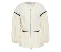 Shell Peplum Jacket Ivory