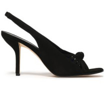 Farah suede slingback sandals