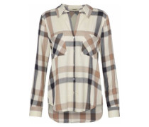 Jacqueline checked twill shirt