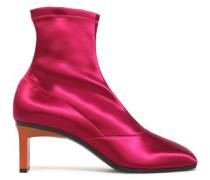 Satin sock boots