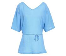 Cotton Georgette Tunic Light Blue  /S