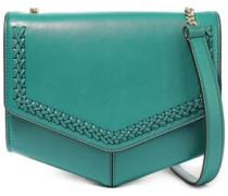 Lou Leather Shoulder Bag Teal Size --
