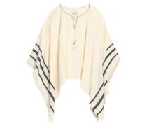 Adalina draped embellished cotton tunic