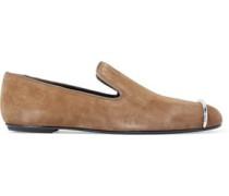 Kallie embellished suede slippers