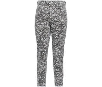Leopard-print High-rise Skinny Jeans Animal Print  4